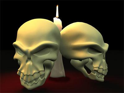 3d max skull