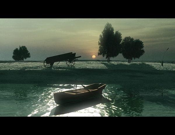 lake boat sea max