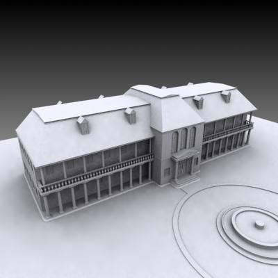 big house 3d 3ds