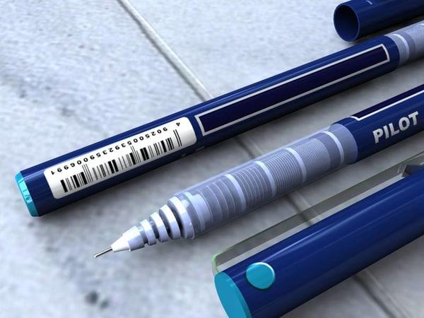 3ds max pilot pen