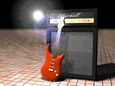 strat-style guitar strings dxf