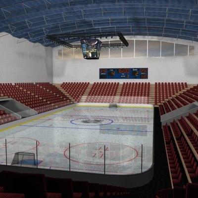 arena ice 3d model