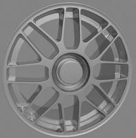 3d model bbs rim