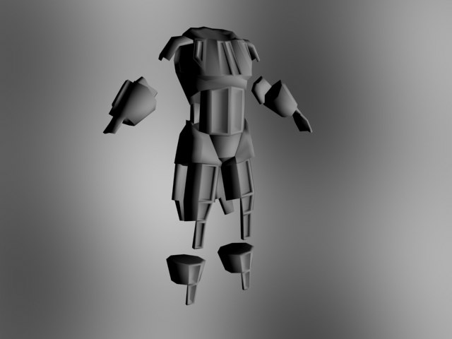 3d armor gladiators