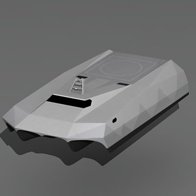 m80 stiletto naval ship 3d model