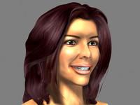 3d model head eva longoria