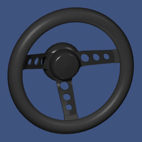 3d competition steering wheel