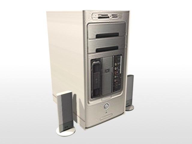 3ds max hp pavillion computer speakers