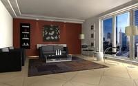 Living room scene 01