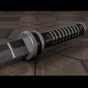 sword daywalker 3d model