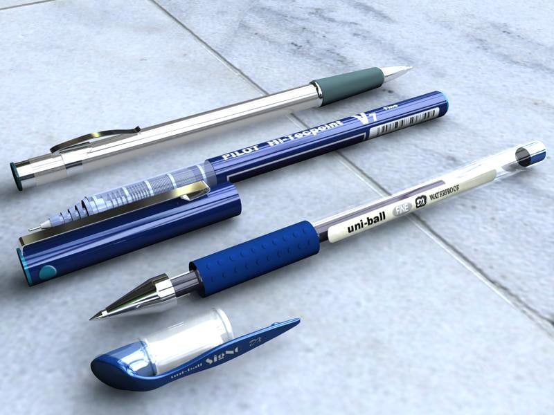 3ds 3 pens