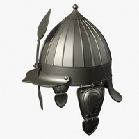 ottoman helmet 3d model