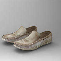 3d max polygonal moccasins