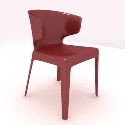 hola sprint chair 3d model