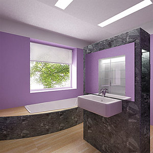 bathroom room 3d max