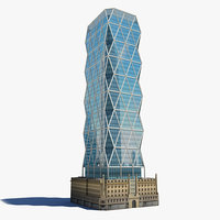 hearst tower 3d model