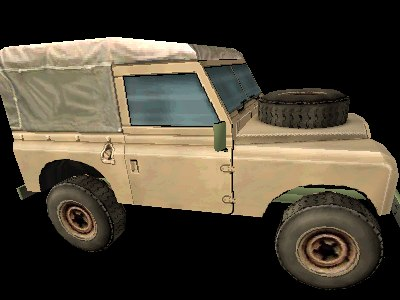 small jeep 3d model