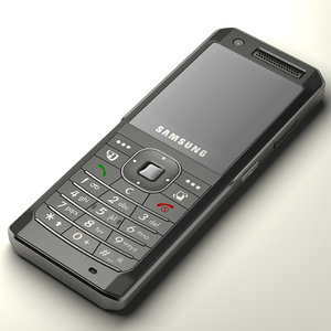 3d samsung sgh-z150 cell phone model