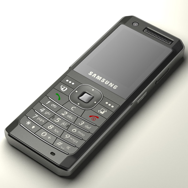 3d samsung sgh-z150 cell phone model