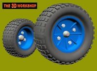 3d wheels tyres