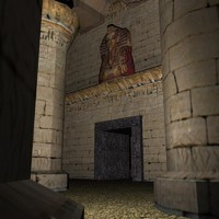 3d egyptian tomb