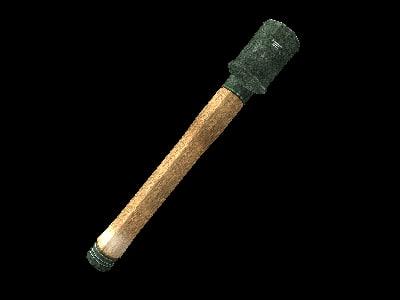 3d grenade stick