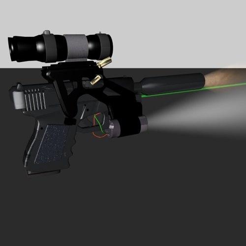 9mm glock 3d c4d