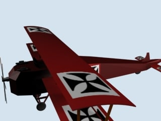 albatros aircraft 3d 3ds