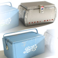 Pepsi branded retro Cool Boxes