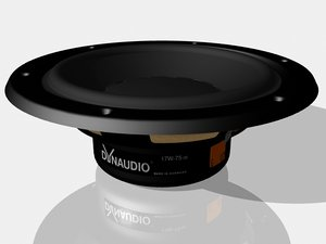 3d dynaudio 17w75 ext model