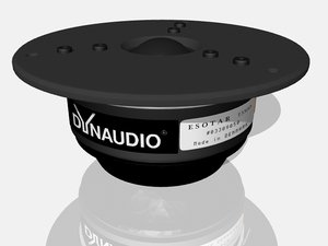 dynaudio esotar t330d 3d model