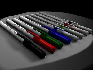 bic pens 3ds
