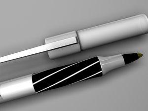 3ds black pen