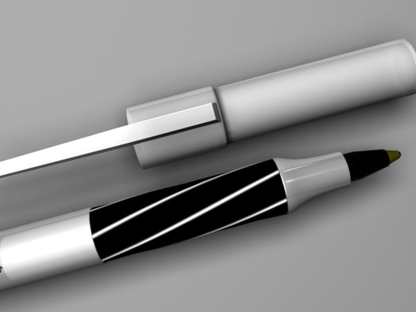 3ds black pen