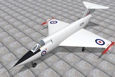 3d model saunders roe sr53