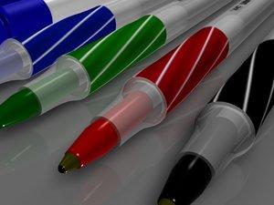 3d bic pens