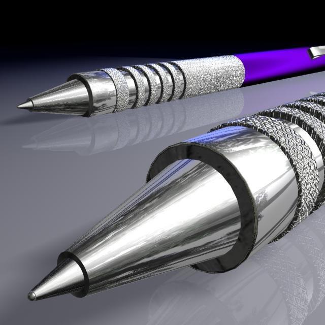 3ds max blue pen