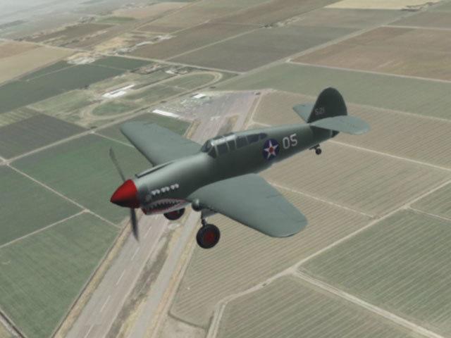3d american fighter model