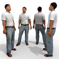 3d Model - Casual Male #1a