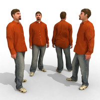 3d Model - Casual Male #4