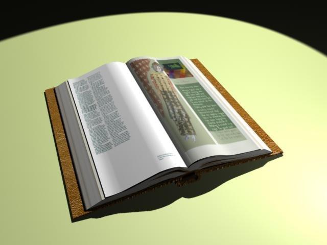 book 3d 3ds