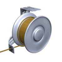 3d tubing reel model