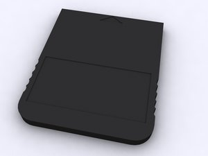 free memory card adapter 3d model