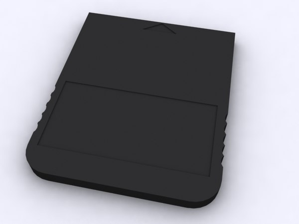 free memory card adapter 3d model