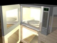 microwave micro 3d max