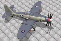 3d model westland wyvern