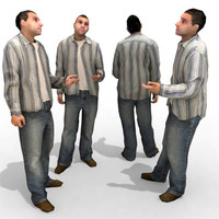 3d Model - Casual Male #11a