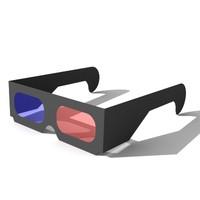 obj stereo glasses