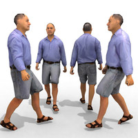 3ds max - casual male character