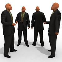 3d Model - Business Male #5a